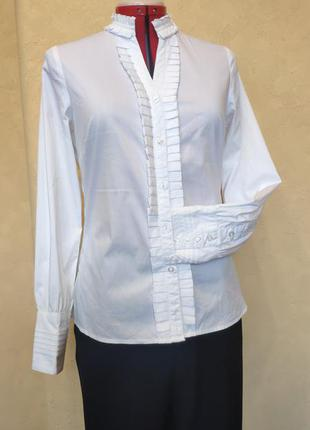 Люксовая белая рубашка fabiana filippi