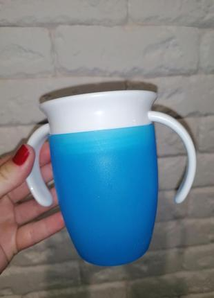 "Чашка непроливная munchkin ""miracle 360"" с ручками"