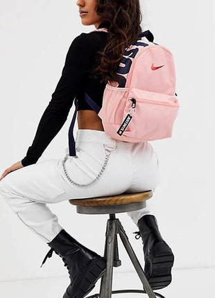 Рюкзак nike brasilia jdi just do it оригінал наплічник жіночий підлітковий ba5559-697