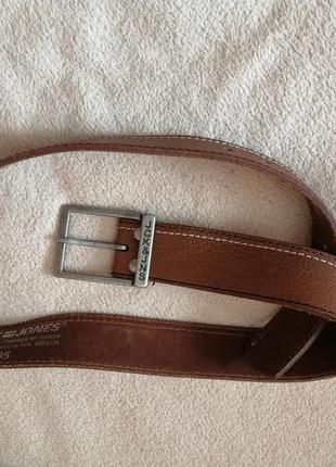 Jack & jones оригинал кожаный мужской ремень