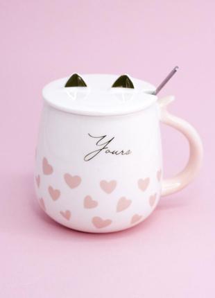 Кружка чашка с ушками