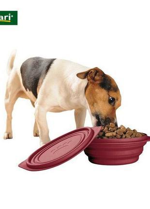 Дорожня миска для собак zoofari® 1л.