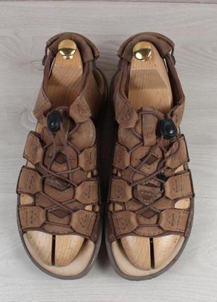 Мужские кожаные сандали clarks оригинал, размер 42