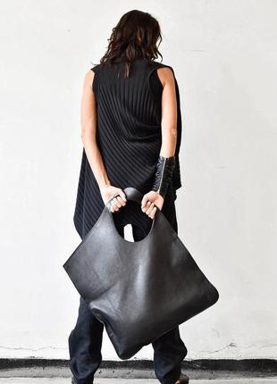Дизайнерская кожаная сумка aakasha