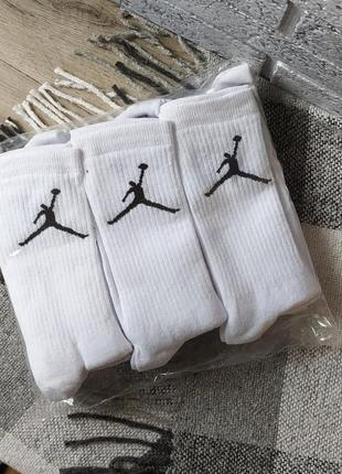 6 пар 🏀 носки высокие в стиле jordan air nike