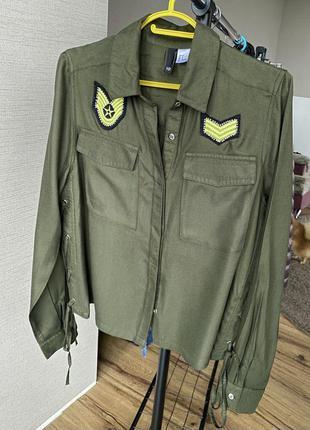 Женская рубашка h&m eur 36, s, next