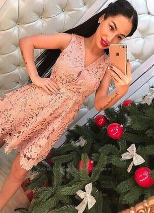 Кружевное платье р.s