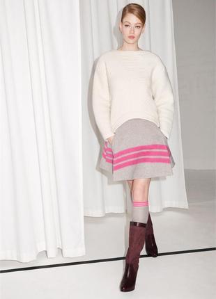 Шерстяная юбка из лимитированной коллекции other stories(cos) xs-s