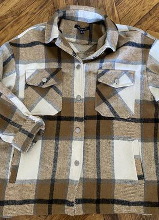 Продам рубашку под zara over size