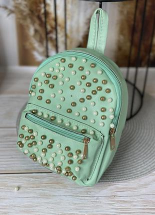 Мини-рюкзак бусинка
