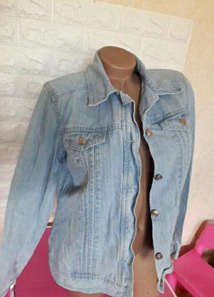 Красивая джинсовая курточка р 50-52