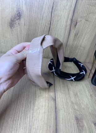 Кожаный обруч , обруч , украшения для головы