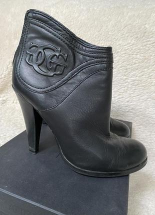 Guess ботильоны ботинки кожаные