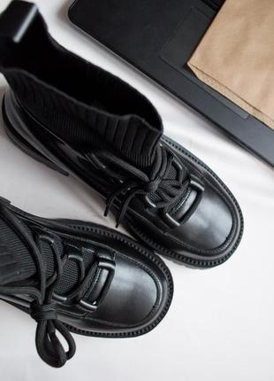 Стильные ботинки с интересным дизайном🔥
