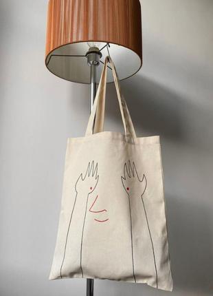Шоппер эко-сумка сумка шопер