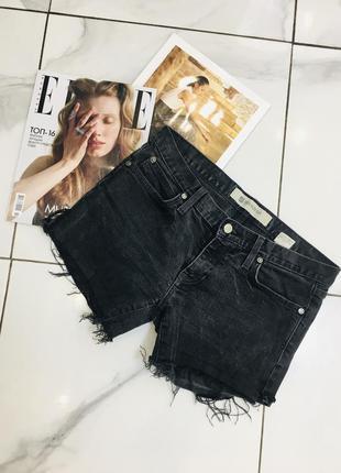 Крутые джинсовые шорты с потрепаным низом - стретч деним от gap  1+1=3 🎁
