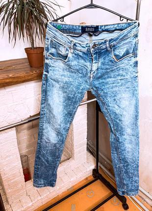 Мужские джинсы , узкие мужские джинсы , джинсы скини