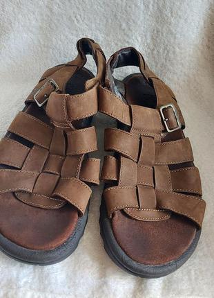 Босоножки сандали teva camden 43p коричневые кожа