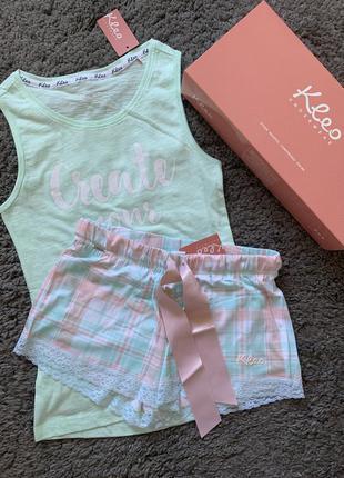 Пижама костюм для дома набор для сна kleo