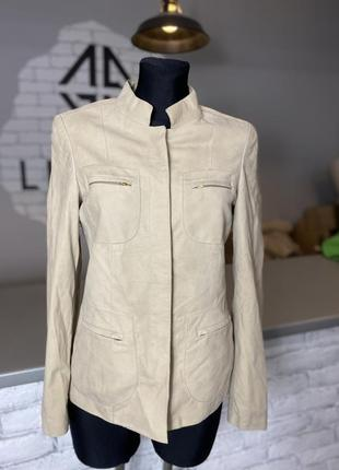 Куртка faraud нубуковая куртка косуха бежевая нубукова куртка