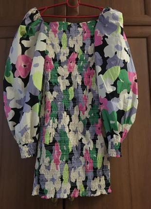 Натуральное платье от  h&m