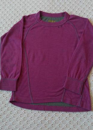 Термореглан devold з мериносової шерсті термо футболка кофта термобілизна термобелье шерсть мериноса
