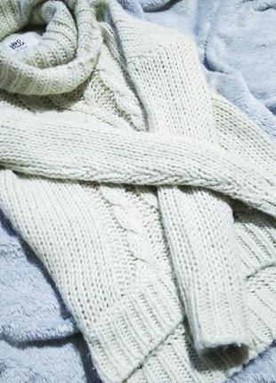 Тёплый и стильный свитер