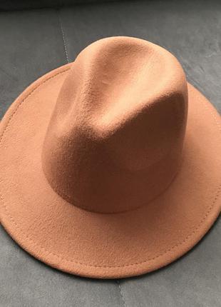 Шляпа федора унисекс капелюх