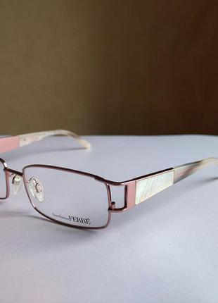 Фирменная оправа под линзы,очки оригинал gf.ferre gf38803 новая
