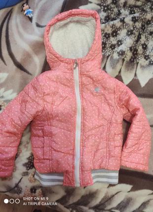 Осенняя курточка детская