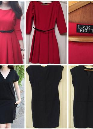 Красивые платья  плотный ткань love republic и mohito