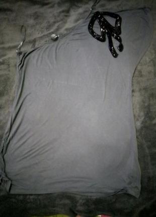 Красивая футболка на одно плечо next 4xl