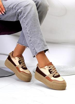 Женские песочные кроссовки