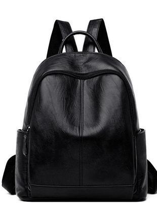 Женский рюкзак эко-кожа 1217 black