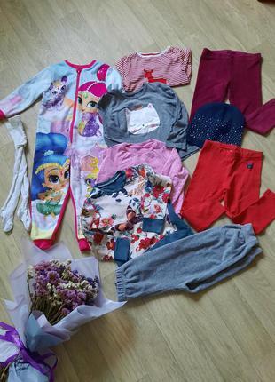 20 грн шт,пакет одежды для девочки, набор одежды на осень