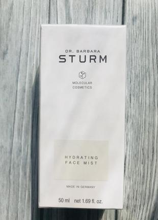 Dr. barbara sturm увлажняющий спрей для лица hydrating face mist 50мл