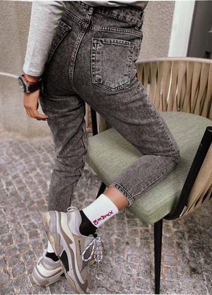 Твои идеальные джинсы мом с завышенной посадкой