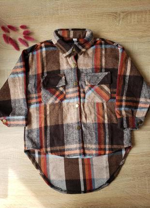 Детская тёплая рубашка