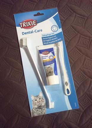 😸 гигиенический набор для кошек trixie