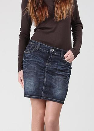 Юбка джинсовая от tom tailor. размер m-l. идеальное состояние. супер распродажа !