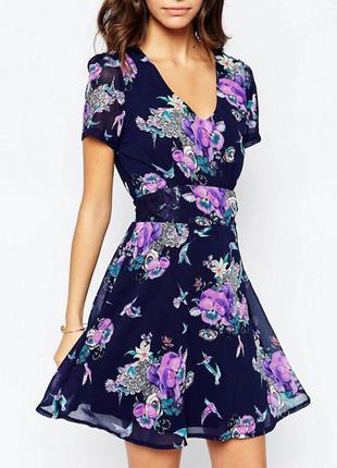 Шифоновое платье yumi