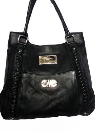 Кожаная сумка натуральная кожа tommi & kate