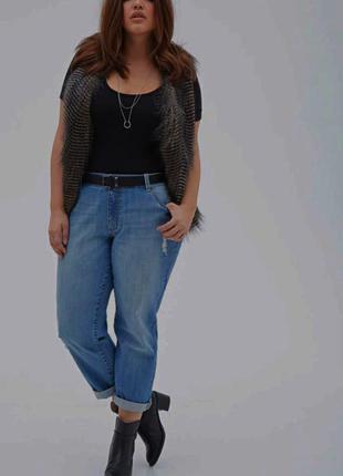 Стрейчевые джинсы большого размера☘️супер-батал