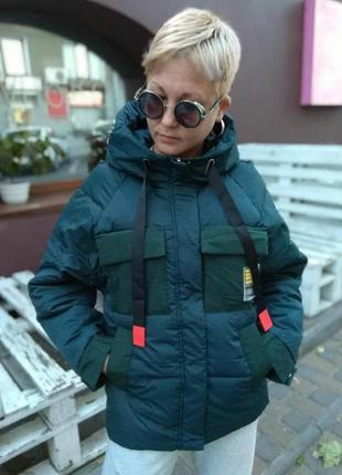 Классная куртка холлофайбер