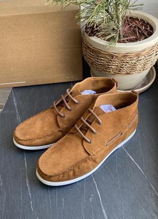 Новые осенние ботинки-топсайдеры asos