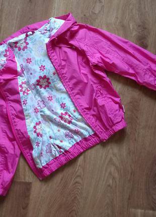 Ветровка детская бемби, курточка на рост 116-122см. 6 лет.