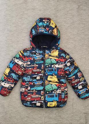 Теплая куртка next, демисезонная на 2,5-2 года