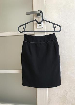 Классическая юбка love republic черная