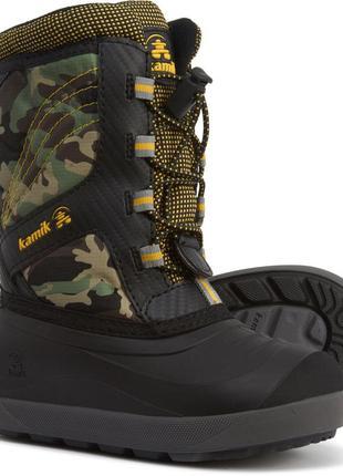 Детские зимние сапоги kamik base boots, 100% оригинал