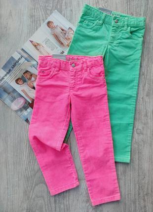 Стрейчевые вельветовые брюки, штаны (цена за 1шт)